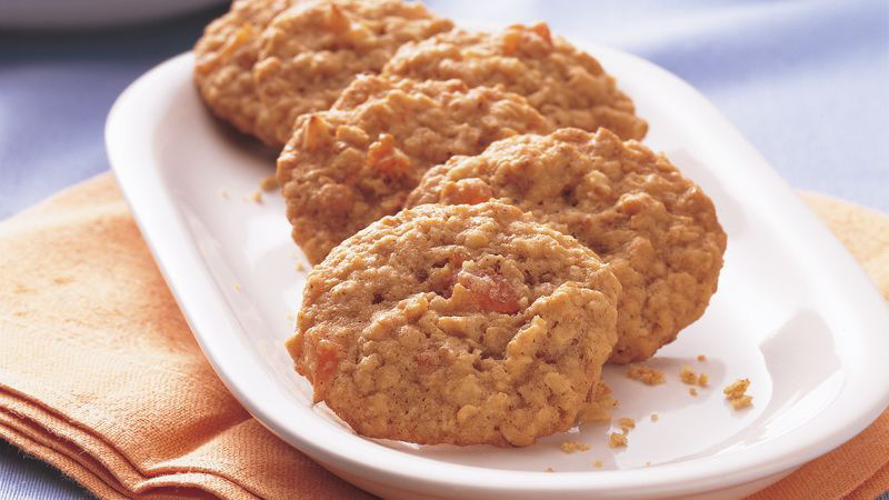 Apricot Oatmeal Cookies recipe
