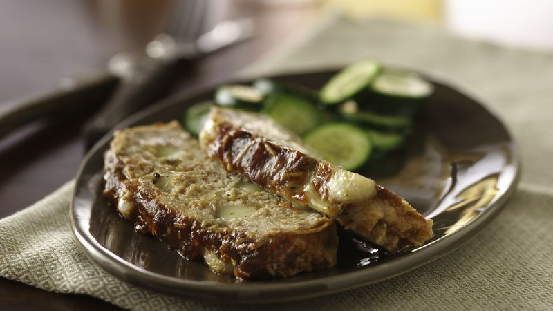 Cheesy Stuffed Meatloaf recipe