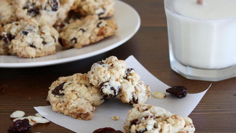 Cherry Almond Oat Breakfast Cookies recipe