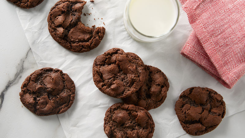 Double-Chocolate Chip Cookies Recipe