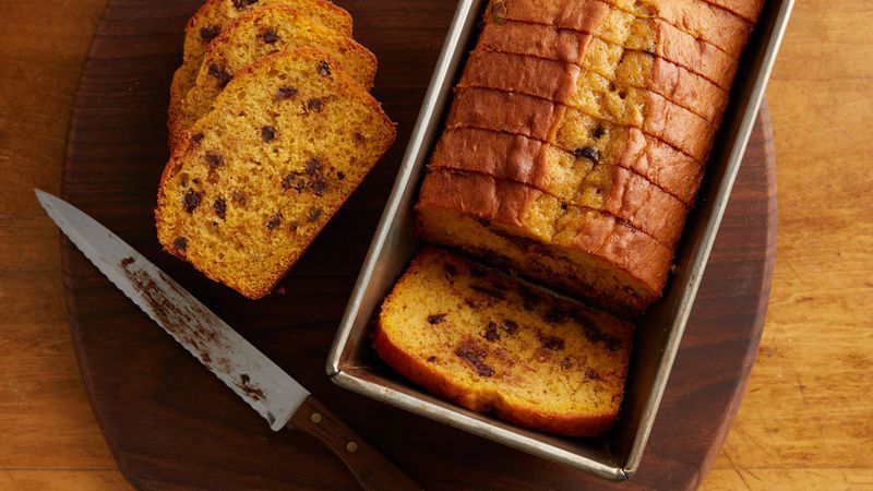Easy Pumpkin-Banana Bread recipe