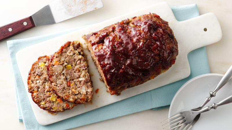 Loaded Vegetable Meatloaf recipe