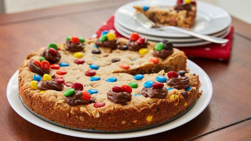 Monster Cookie Cake recipe