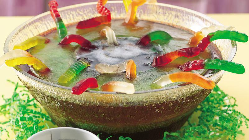 Halloween Gummy Worm Punch Recipe