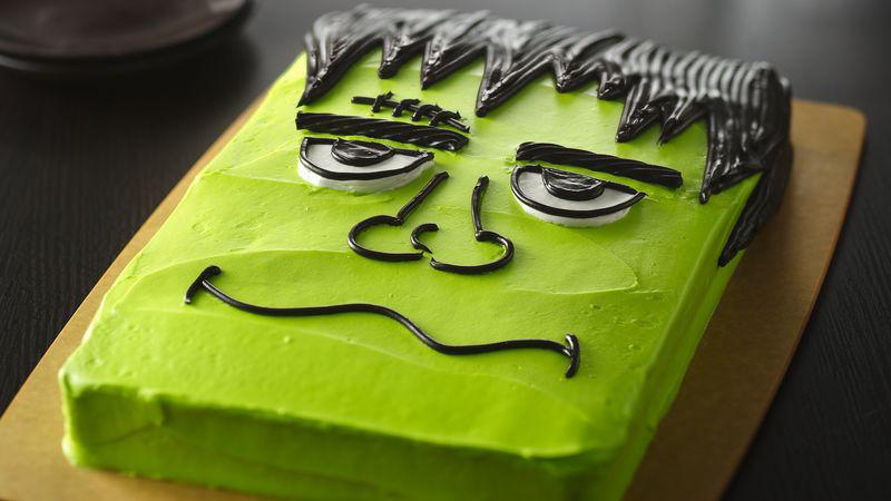 Halloween Monster Cake Recipe