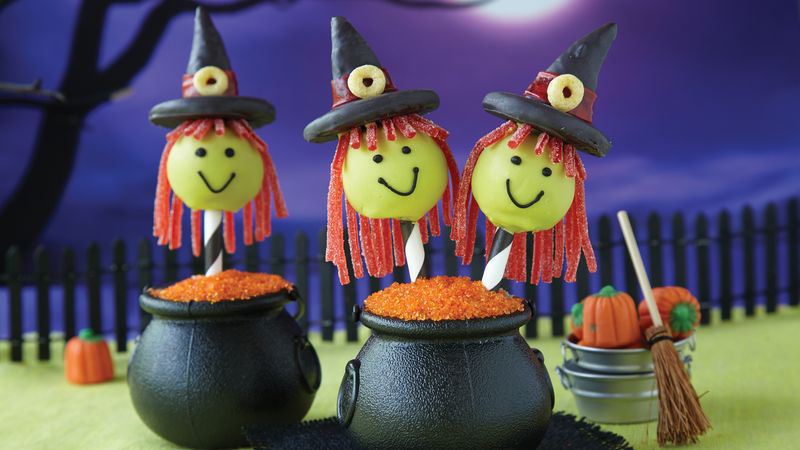 Halloween Witch Cake Pops Recipe