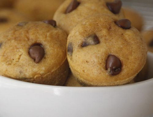 Pumpkin Pie Pancake Muffins