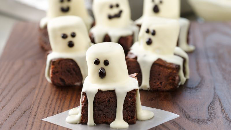 Spooky Boo Brownies Recipe