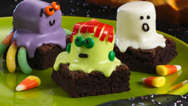 Spooky Brownies Recipe