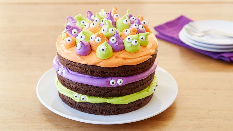 Spooky Eyeball Halloween Cake Recipe