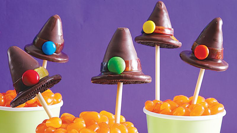 Witch Hat Halloween Cake Pops Recipe