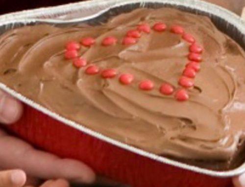 Chocolate Heart Cake Recipe